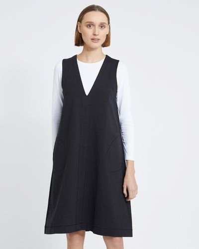 Carolyn Donnelly The Edit Zig Zag Pinafore