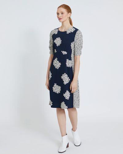 Carolyn Donnelly The Edit Petal Print Dress