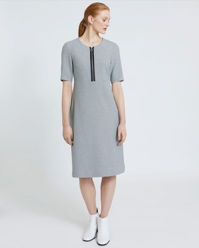 Carolyn Donnelly The Edit Check Dress