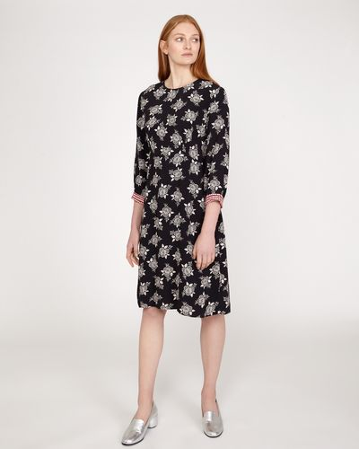 Carolyn Donnelly The Edit Geo Floral Print Dress