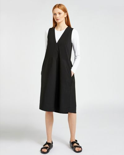 Carolyn Donnelly The Edit Cotton Jersey Pinafore