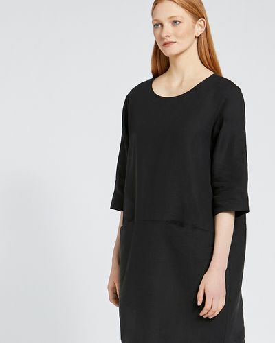 Carolyn Donnelly The Edit Pocket Shift Linen Dress