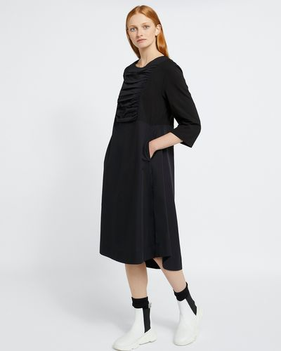 Carolyn Donnelly The Edit Gathered Front Dress