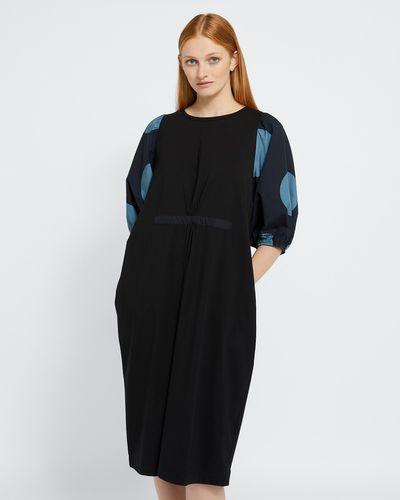 Carolyn Donnelly The Edit Spot Print Dress