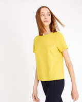 yellow Carolyn Donnelly The Edit Tailored Top