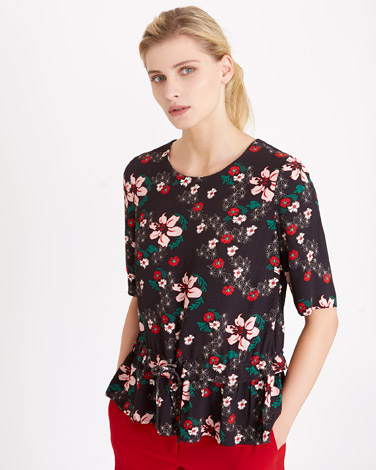 print Carolyn Donnelly The Edit Floral Print Top