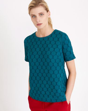 green Carolyn Donnelly The Edit Circle Top