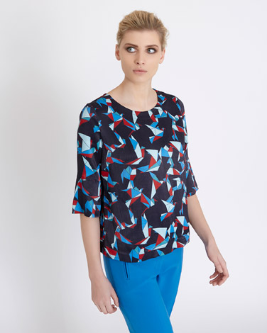 Carolyn Donnelly The Edit Origami Print Top