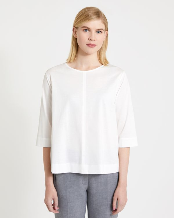 Carolyn Donnelly The Edit Cotton Top