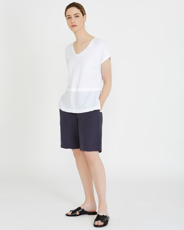 whiteCarolyn Donnelly The Edit Drop Shoulder Top