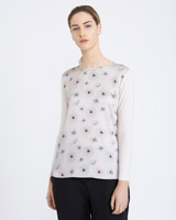 stone Carolyn Donnelly The Edit Jersey Print Top