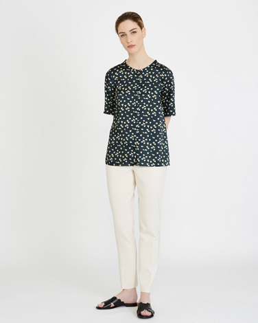 Carolyn Donnelly The Edit Print Top