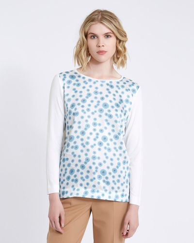 Carolyn Donnelly The Edit Printed Jersey Top