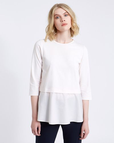 Carolyn Donnelly The Edit Cotton Tunic Flared Top