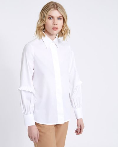 Carolyn Donnelly The Edit Ruffle Detail Shirt thumbnail