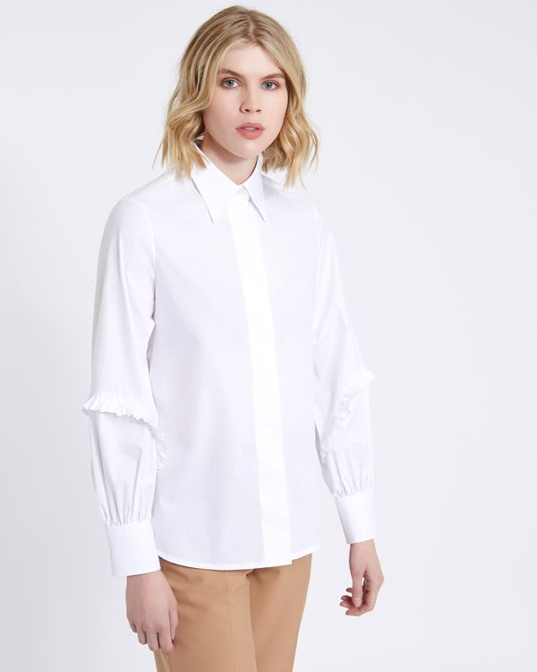 Carolyn Donnelly The Edit Ruffle Detail Shirt