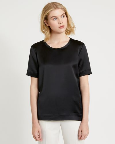 Carolyn Donnelly The Edit Poly Satin Top