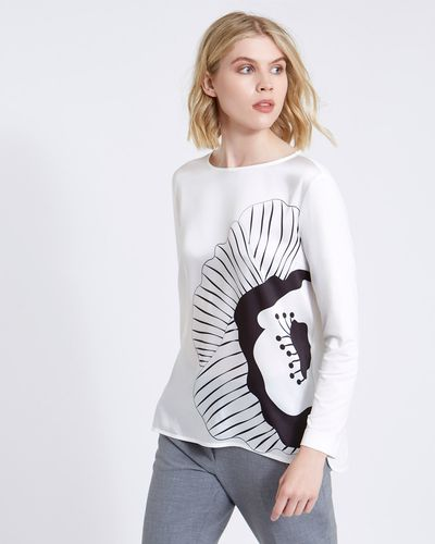Carolyn Donnelly The Edit Placement Print Top