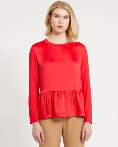 Carolyn Donnelly The Edit Gathered Hem Top