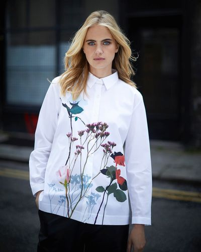 Carolyn Donnelly The Edit Floral Print Shirt