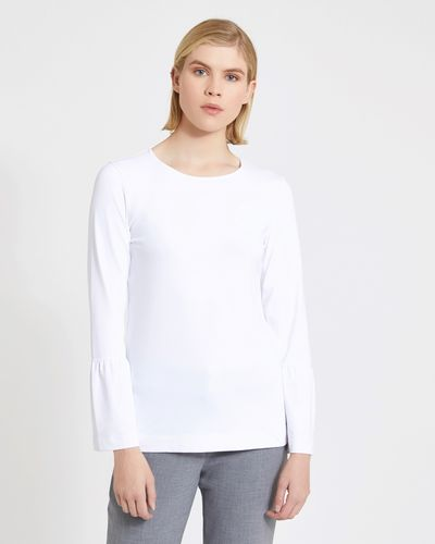 Carolyn Donnelly The Edit Bell Sleeve Meryl Top