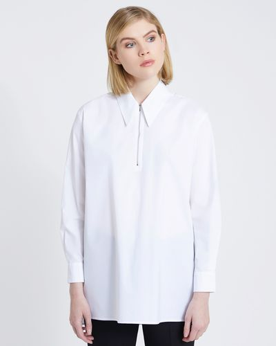 Carolyn Donnelly The Edit Zip Detail Shirt