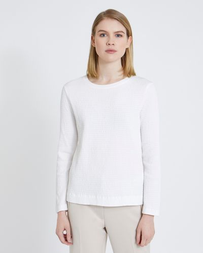 Carolyn Donnelly The Edit Ruched Cotton Top