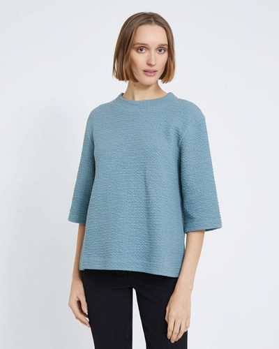 Carolyn Donnelly The Edit Textured Top