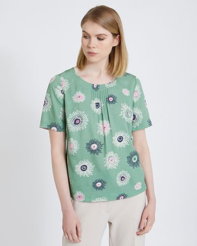 Carolyn Donnelly The Edit Space Flower Top
