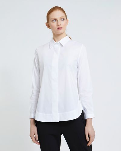 Carolyn Donnelly The Edit Curved Hem Shirt