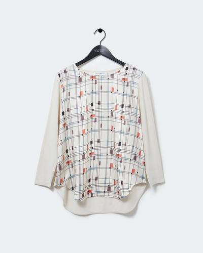 Carolyn Donnelly The Edit Mondrian Print Top