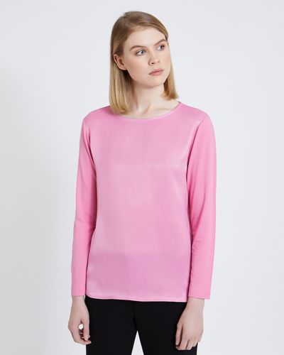 Carolyn Donnelly The Edit Satin Viscose Top