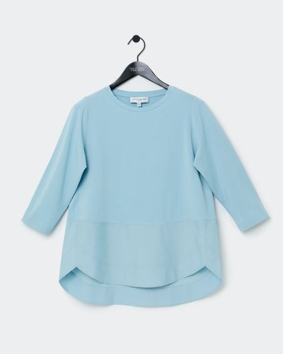 Carolyn Donnelly The Edit Shirt Hem Cotton Top