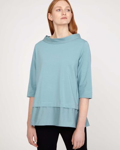 Carolyn Donnelly The Edit Funnel Neck Top thumbnail