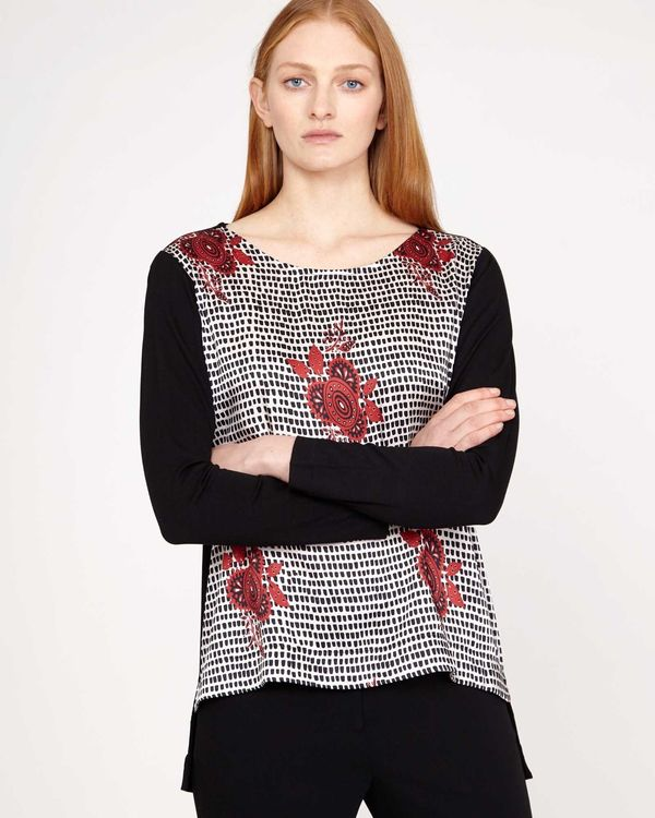 Carolyn Donnelly The Edit Floral Print Top