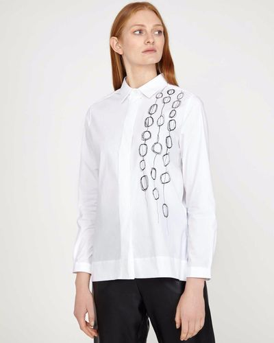 Carolyn Donnelly The Edit Circle Print Shirt