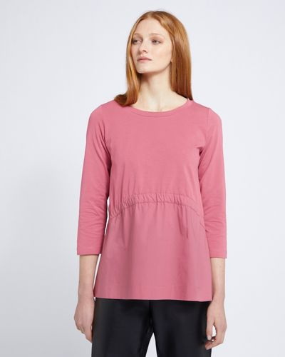 Carolyn Donnelly The Edit Elastic Gathered Top