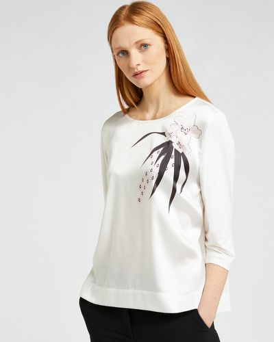 Carolyn Donnelly The Edit Floral Placement Top