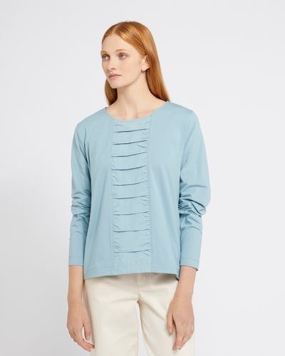 Carolyn Donnelly The Edit Gathered Front Top