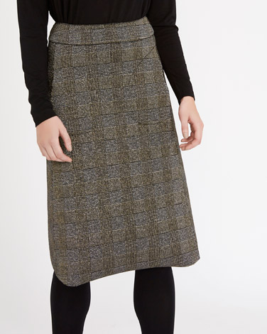 goldCarolyn Donnelly The Edit Lurex Skirt