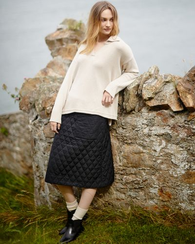 Carolyn Donnelly The Edit Linen Skirt
