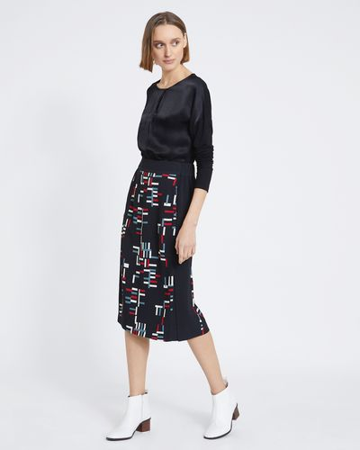 Carolyn Donnelly The Edit Geo Print Skirt