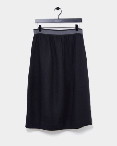 Carolyn Donnelly The Edit Linen Skirt thumbnail
