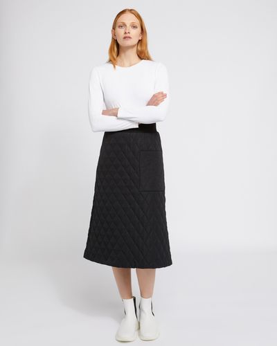 Carolyn Donnelly The Edit Quilted Skirt