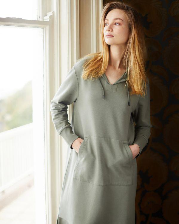 Carolyn Donnelly The Edit Sweatshirt Hoodie Dress