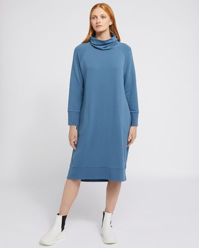 Carolyn Donnelly The Edit Funnel Neck Dress