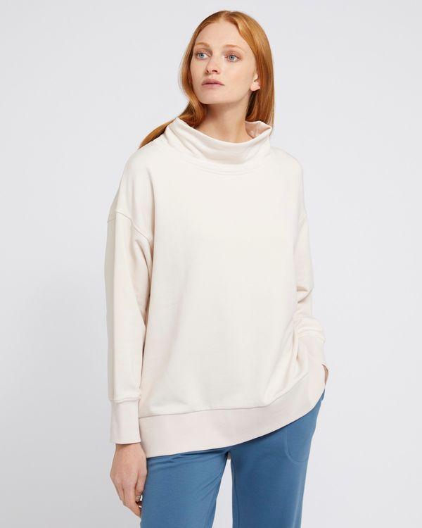 Carolyn Donnelly The Edit Curved Hem Sweatshirt