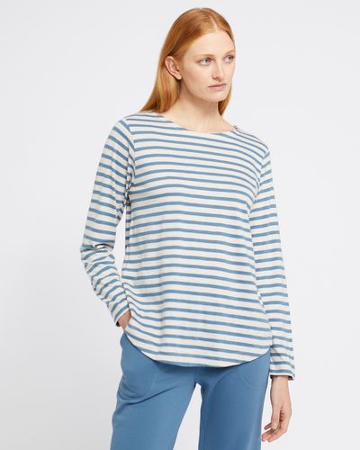 Carolyn Donnelly The Edit Stripe Cotton Top