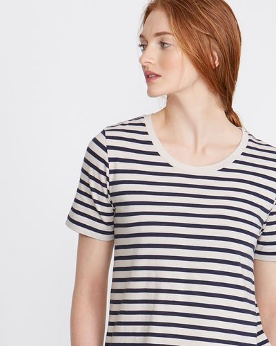 Carolyn Donnelly The Edit Cotton Stripe T-Shirt