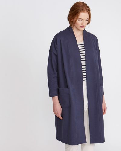 Carolyn Donnelly The Edit Jersey Coat